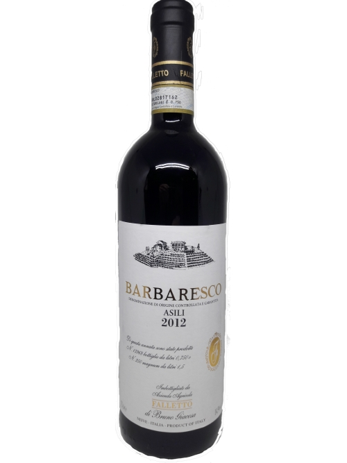 Barbaresco Asili Falletto 2012